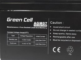 Akumulator AGM Green Cell 12V 12Ah