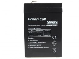 Akumulator AGM Green Cell 6V 4.5Ah