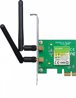 WN881ND karta WiFi N300 (2.4GHz) PCI-E 2x2dBi (SMA) BOX