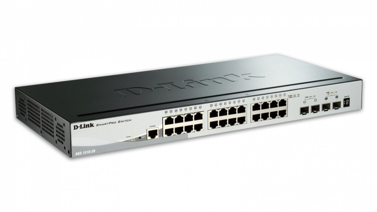 DGS-1510-28X Switch 24xGb+4xSFP