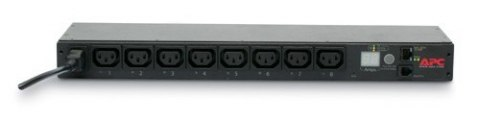 AP7920B PDU SWITCHED 1U 10A/230V 8xC13