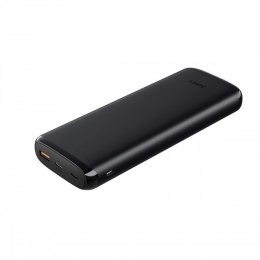 PB-Y23 Black ultraszybki Power Bank | 20000 mAh | 4xUSB | Quick Charge 3.0 | Power Delivery | Kabel USB-C | Etui