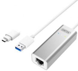 Adapter USB3.0/TYP-C do Gigabit; Y-3464