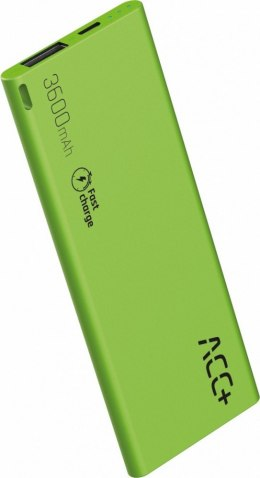 Power Bank ACC+ THIN 3600 mAh zielony