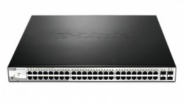 DGS-1210-52MP,48x 1Gbps Smart Sw,4x SFP
