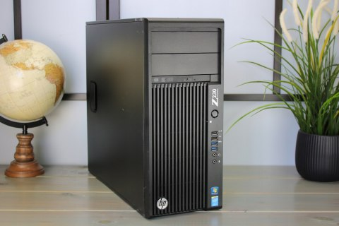 KOMPUTER HP Z230 I7 3.4GHZ 8GB 240SSD W10 DVD