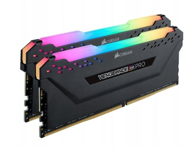 Pamięć DDR4 Vengeance 16GB/3600 (2*8GB) BLACK RGB CL18