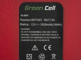 Bateria Akumulator Green Cell do Bosch O-Pack 3300K PSR 12VE-2 GSB 12 VSE-2 12V 1.5Ah