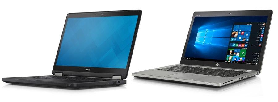 Dell LAtitude E5450 i HP Folio 9480m